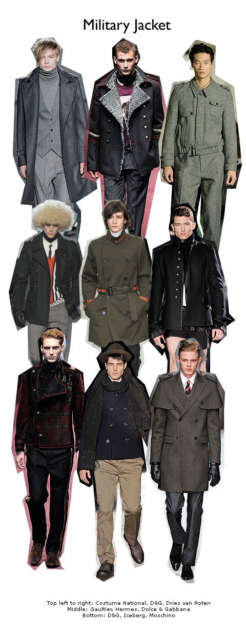 military fashion trend